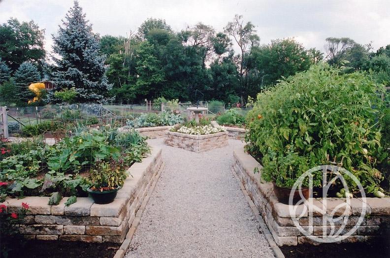 Raised garden in Indian Hill