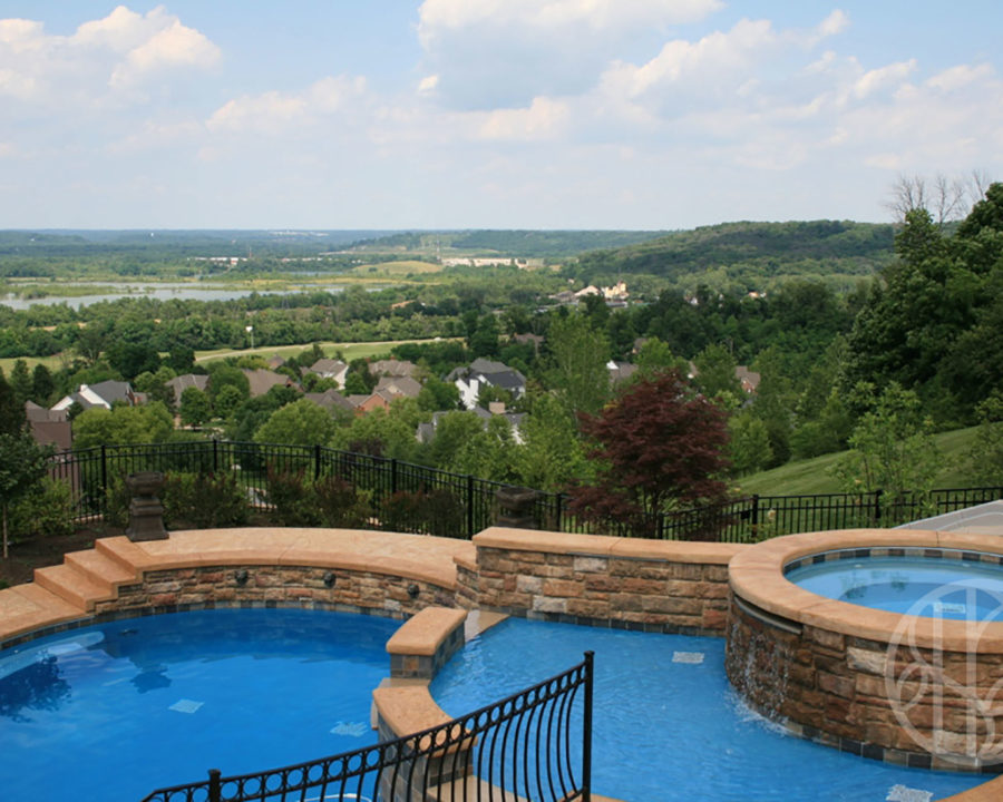 Ivy Hills Pool with a View