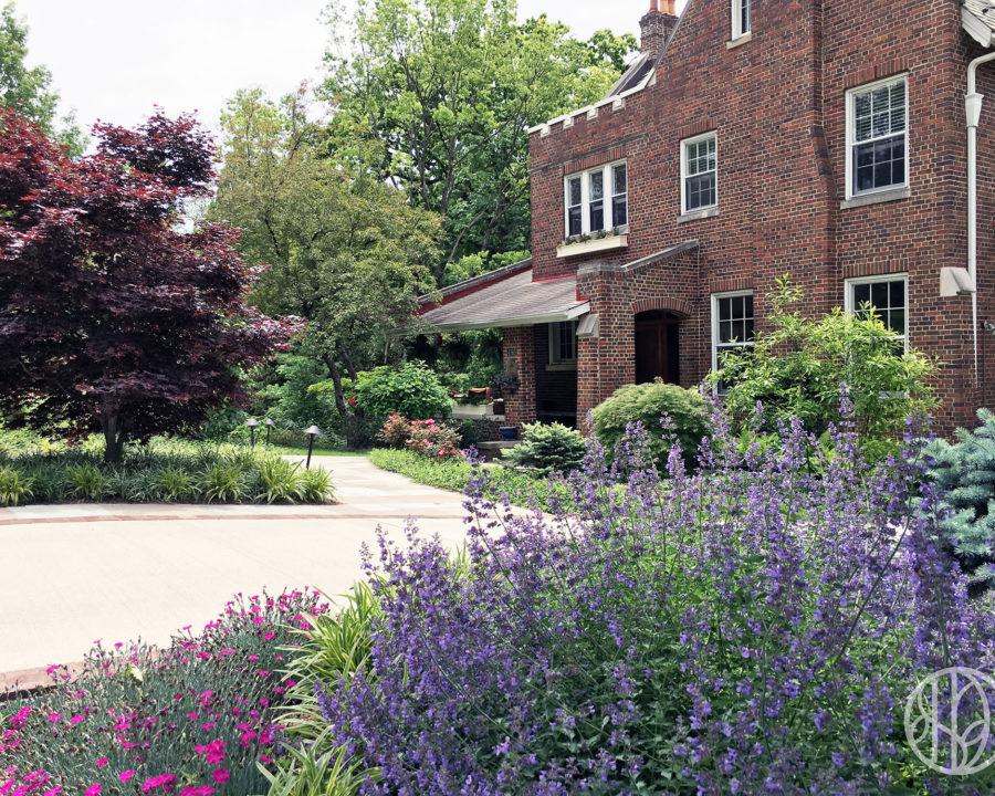 Garden entry in Hyde Park