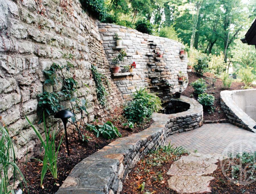 Clifton retaining wall